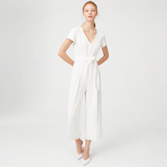 b73dab26f050 Club Monaco Sannah Jumpsuit in White